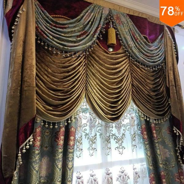 Find More Curtains Information About 3D Spark Flower Pattern The Classical  Curtains Pink Flower On Green