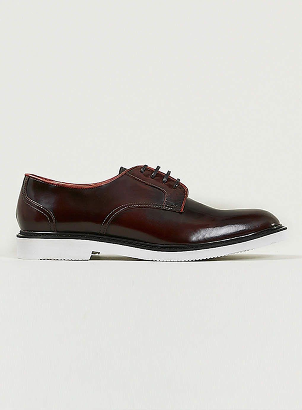 newest 21199 76e7a Foto 1 von Ben Sherman 'Ohns' Derby-Schuhe mit vier Ösen ...