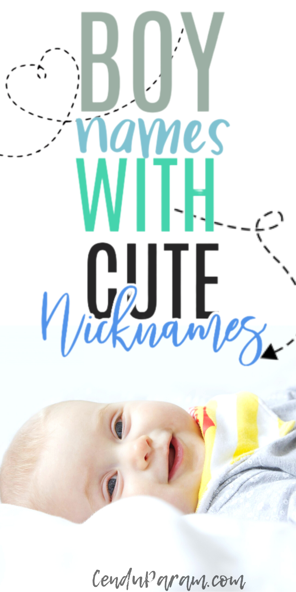 Unique Boy Names With Cute Nicknames For Your Baby Boy!