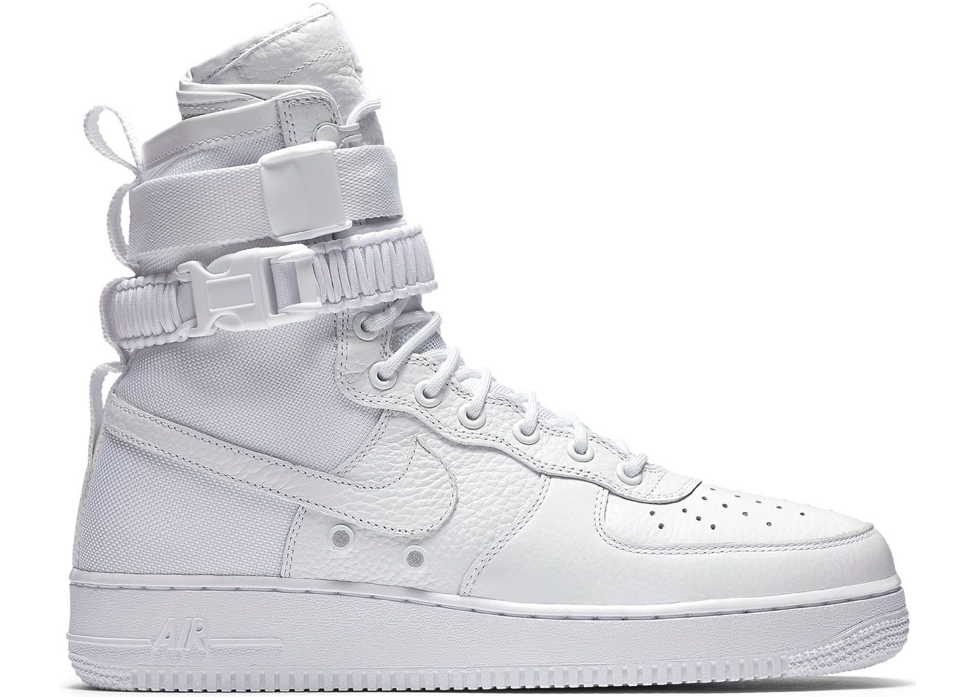 Nike SF Air Force 1 High White (2017) in 2020 | White nike