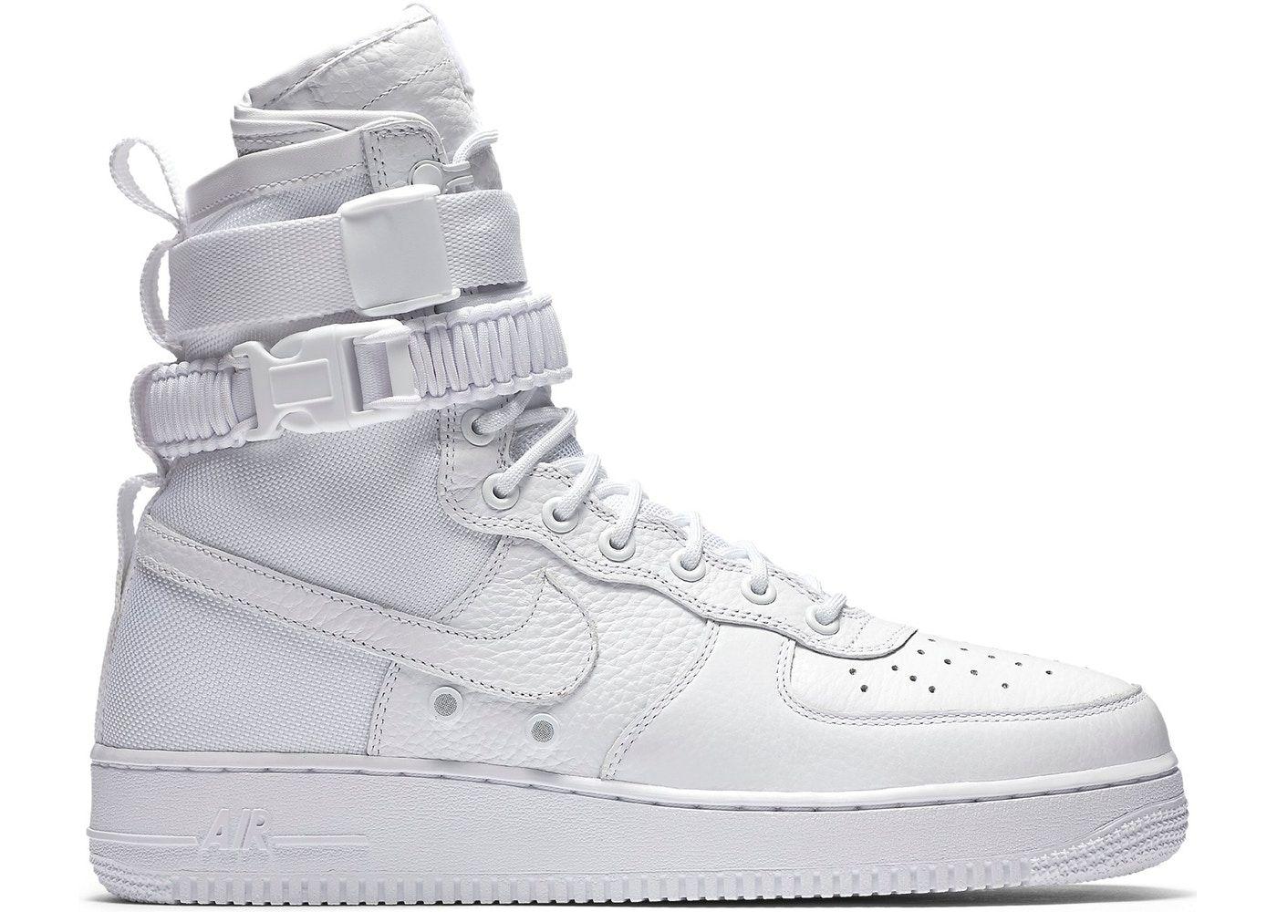 Nike Sf Air Force 1 High White 2017 In 2020 Nike Shoes Air Force Sneakers Men Fashion Sneakers Fashion