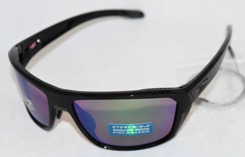 1416307d8a1 NEW OAKLEY SPLIT SHOT OO9416-0564 BLACK W  PRIZM SHALLOW H2O POLARIZED LENS  (eBay Link)
