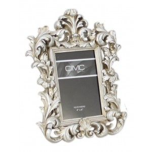 Champagne Silver Baroque Photo Frame 6