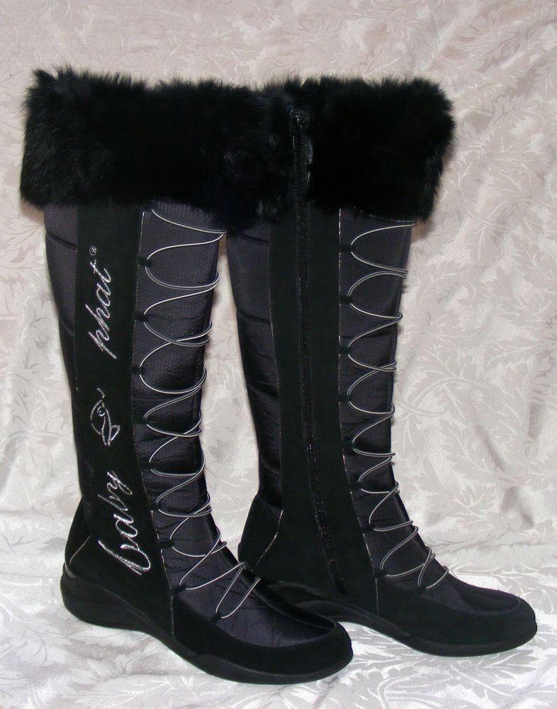 Boots, Faux fur top, Fashion boots