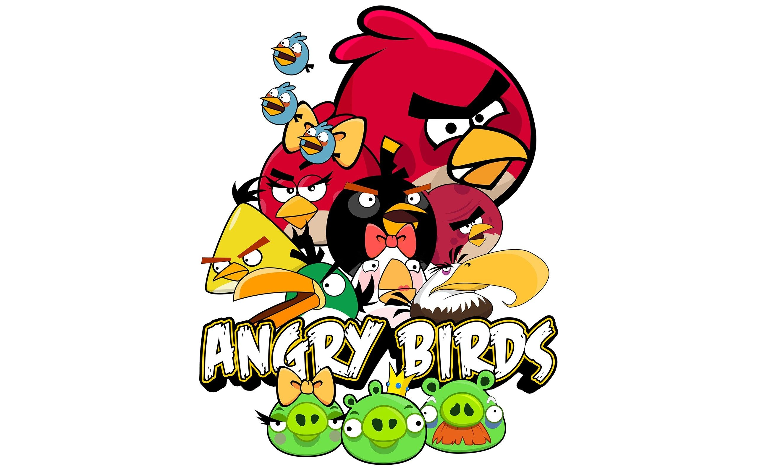 Angry Birds Widescreen Free Download Wallpapers HD O.K ...