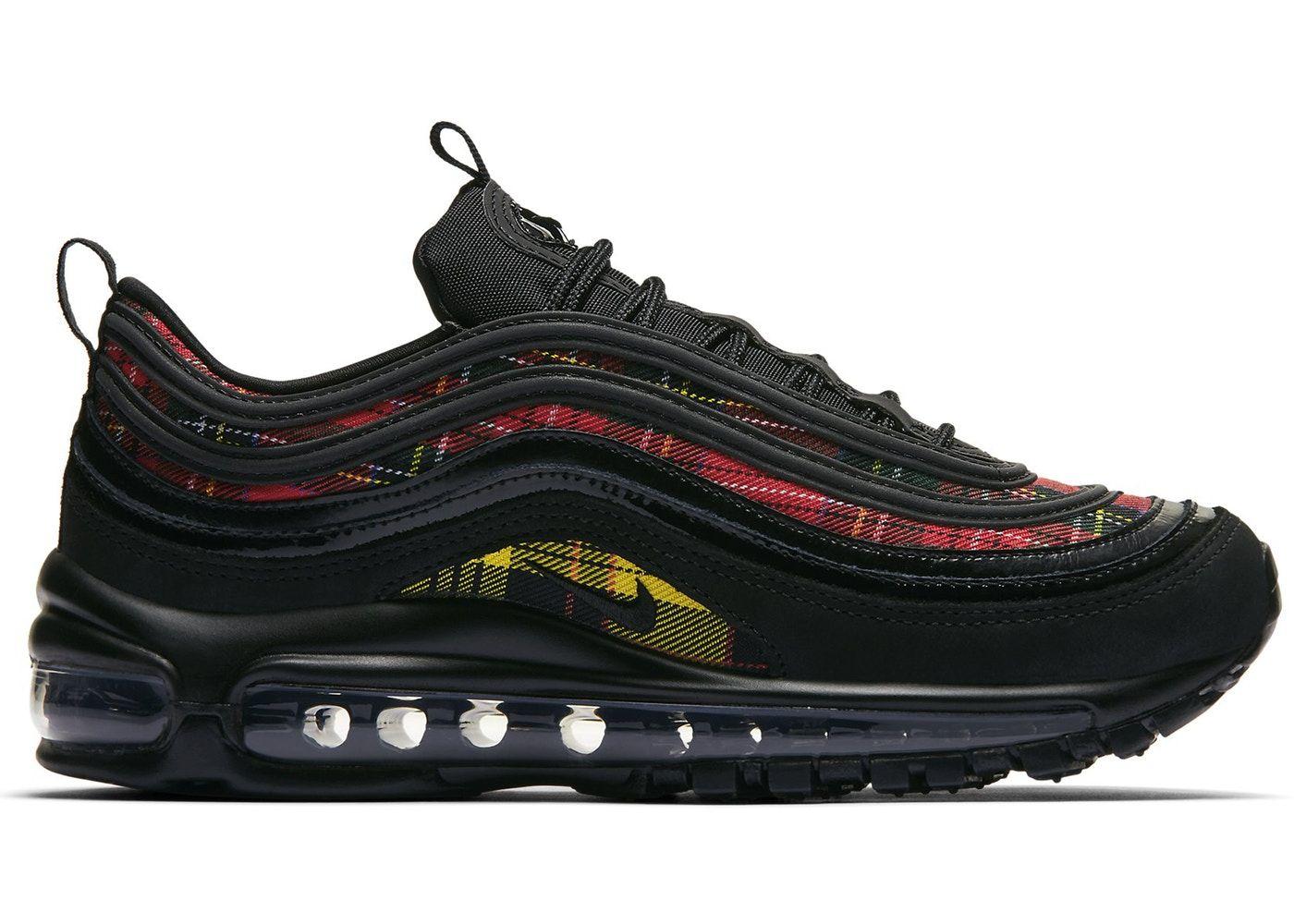 Nike Air Max 97 Tartan Black W Sneakers Men Fashion Nike Air Max 97 Sneakers Fashion