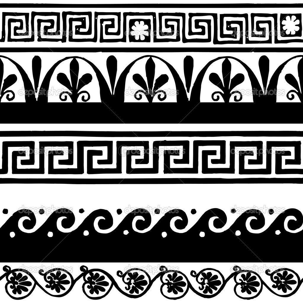 Pix For Greek Wave Patterns Greek Art Greek Pattern Greek Drawing