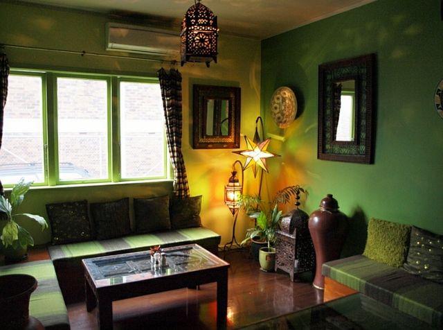 der marokkanische stil - 38 orientalische wohnräume mit exotischer