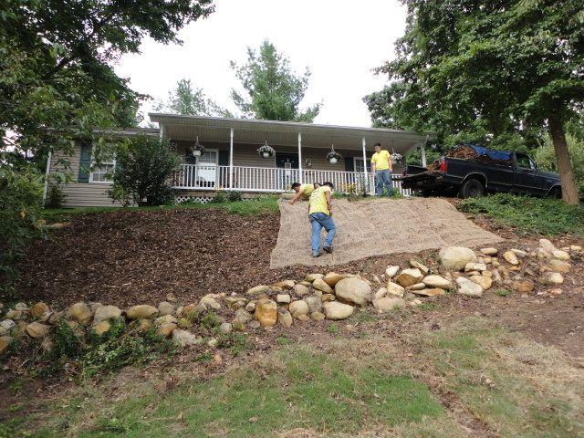 Curlex Erosion Control Blanket 8 Wide Erosion Control Landscape Materials Erosion