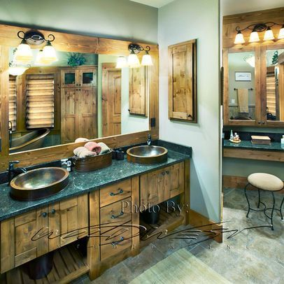 Traditional Bath Photos Rustic Design Ideas, Pictures, Remodel, and