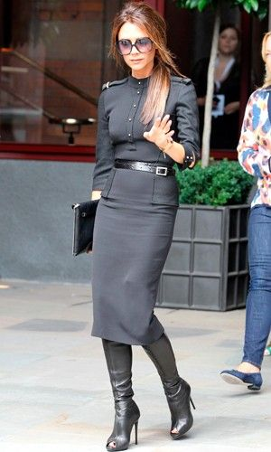 Victoria Beckham Knee high boots