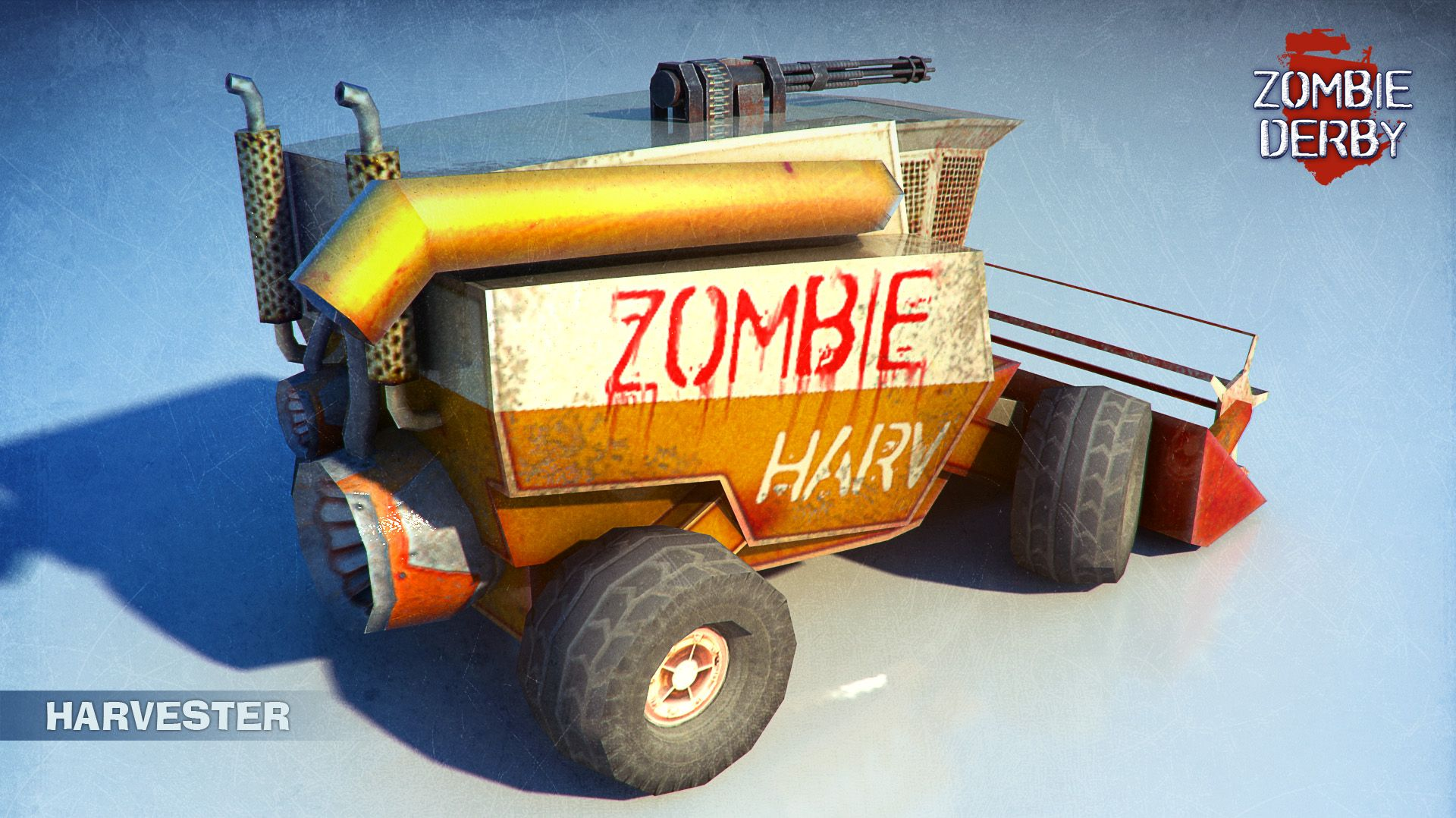 Here is the link to the full album of #killer #cars on imgur http://imgur.com/a/R9Fl9  #Zombie #3D #art #gameart #car #imgur