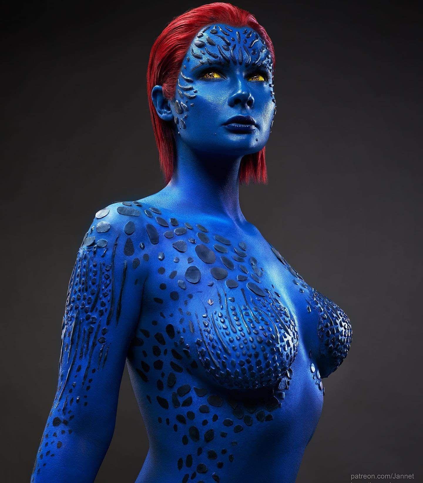 Mystique Cosplay - Jannet Incosplay- X-Men (Marvel Comics