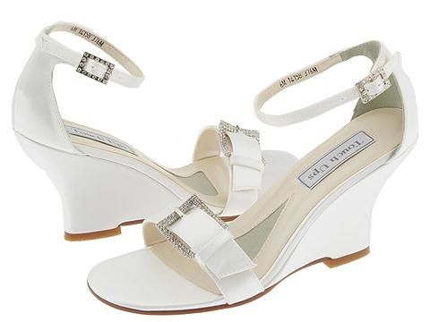 3ad744406 Dressy Wedge Sandals for Weddings | comfortable wedge wedding shoes double  bpw