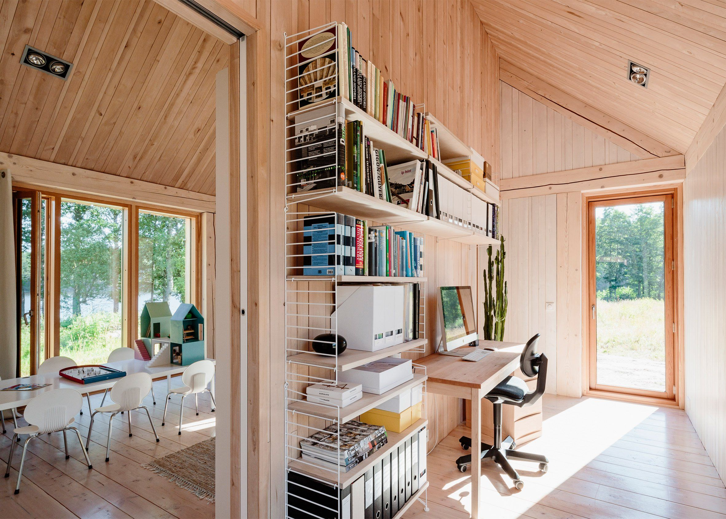 design office space dwelling. Finnish Lakehouse Keeps Things Simple MNy Arkitekter Built House Åkerudden By A Lake In The Rural Community Of Tenala. Result Emphasizes \u201cauthenticity, Design Office Space Dwelling E