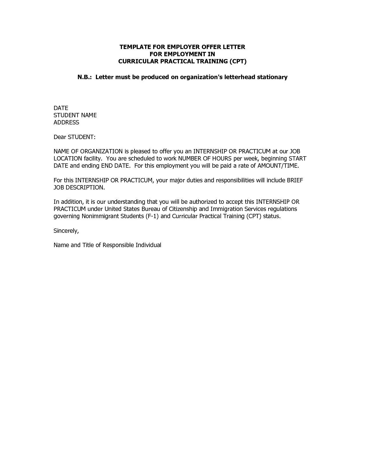 Download New Rescinding A Job Offer Letter Lettersample