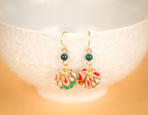 Hummingbird Earrings Small Bird Earrings by MusingTreeStudios, $19.99