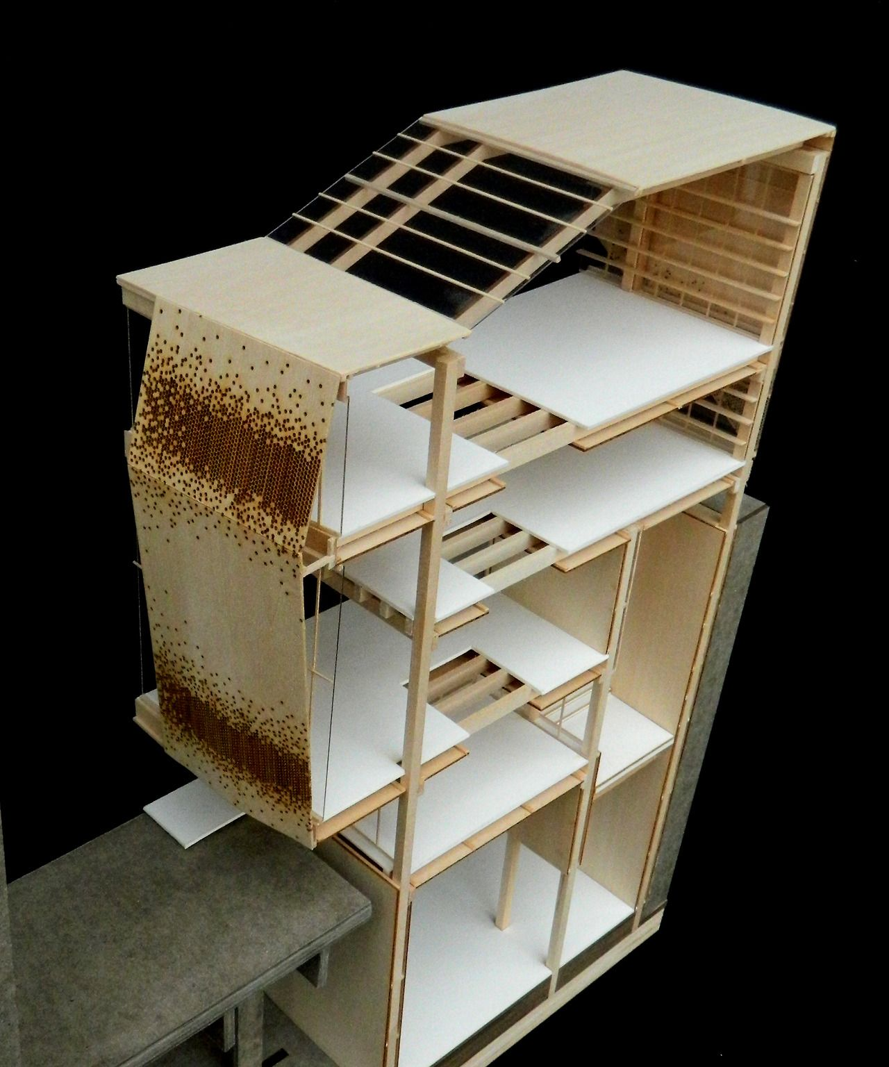 Section Model | Dan Greenberg | Student At University Of South Florida,  School Of Architecture