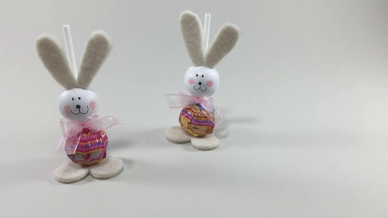 Pasqua Fai Da Te Simpatici Conigli Con Lecca Lecca Idee Creative