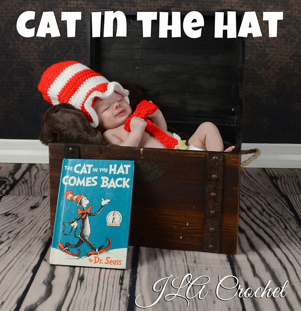 Ravelry Cat In The Hat Set Pattern By Leigh Ann Atwell Gift Idea