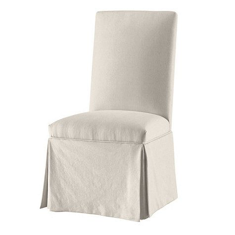 Parsons Chair Slipcover Ballard Essential Timeless And