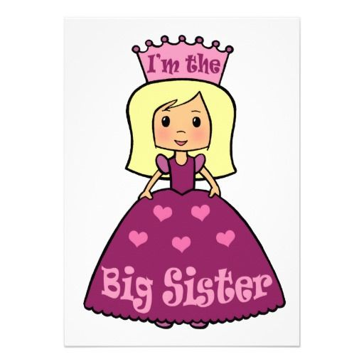 cute cartoon princess cartoon clip art cute big sister princess rh pinterest com sisters clipart free sister clipart