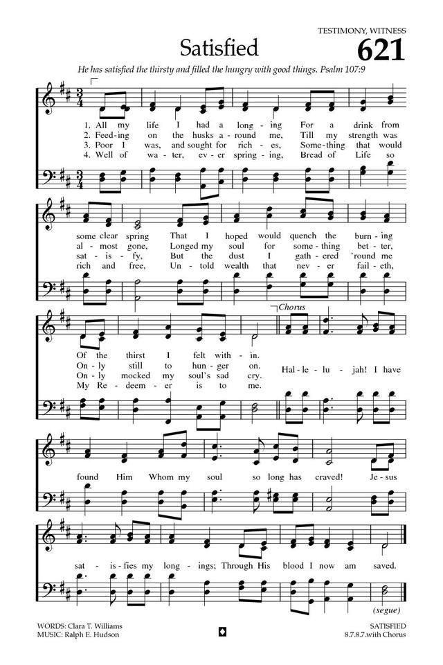 Baptist Hymnal Sheet Music Free