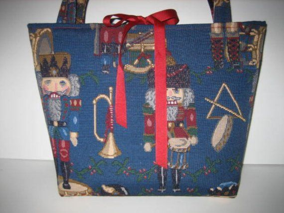 JeannieBags Christmas Holiday Nutracker Tote Diaper by jeanniebags, $55.00