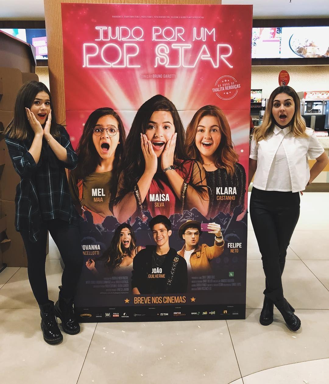 """, +A on Instagram: """"ta chegando o tão esperado diaaaa!!! dia 11 de outubro não se esqueçam de ir ao cinema pra ver #tudoporumpopstar da @thalitareboucas ❤️"""", My Pop Star Kda Blog, My Pop Star Kda Blog"""