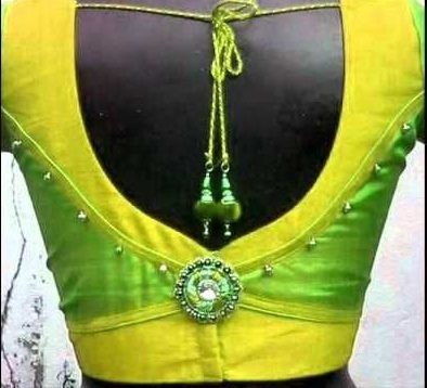 30 Latest Patch Work Saree Blouse Designs #blousedesigns
