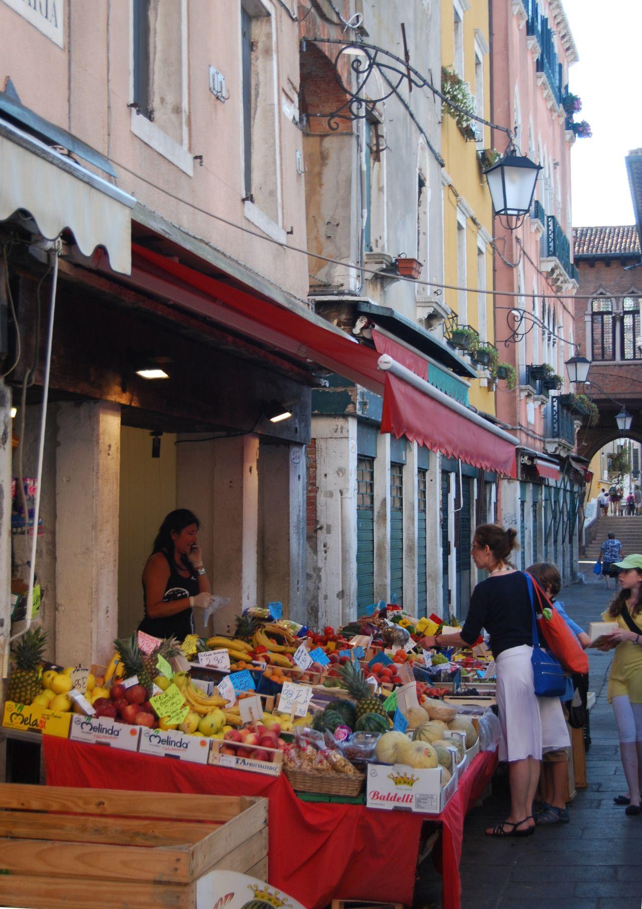 Fruit stall, Venice, Veneto 2011, Italy photography by cithopper2