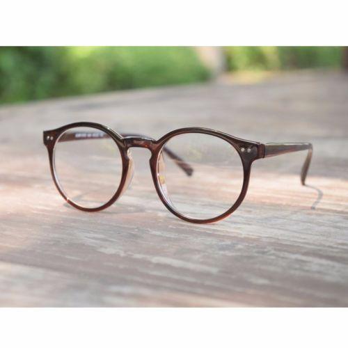 696a229a7f 1920s Vintage oliver retro eyeglasses 82E41 Brown Round frames eyewear  rubyruby