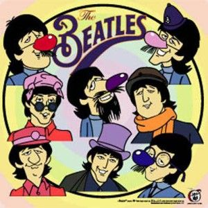 The Beatles Fab Faces Poster