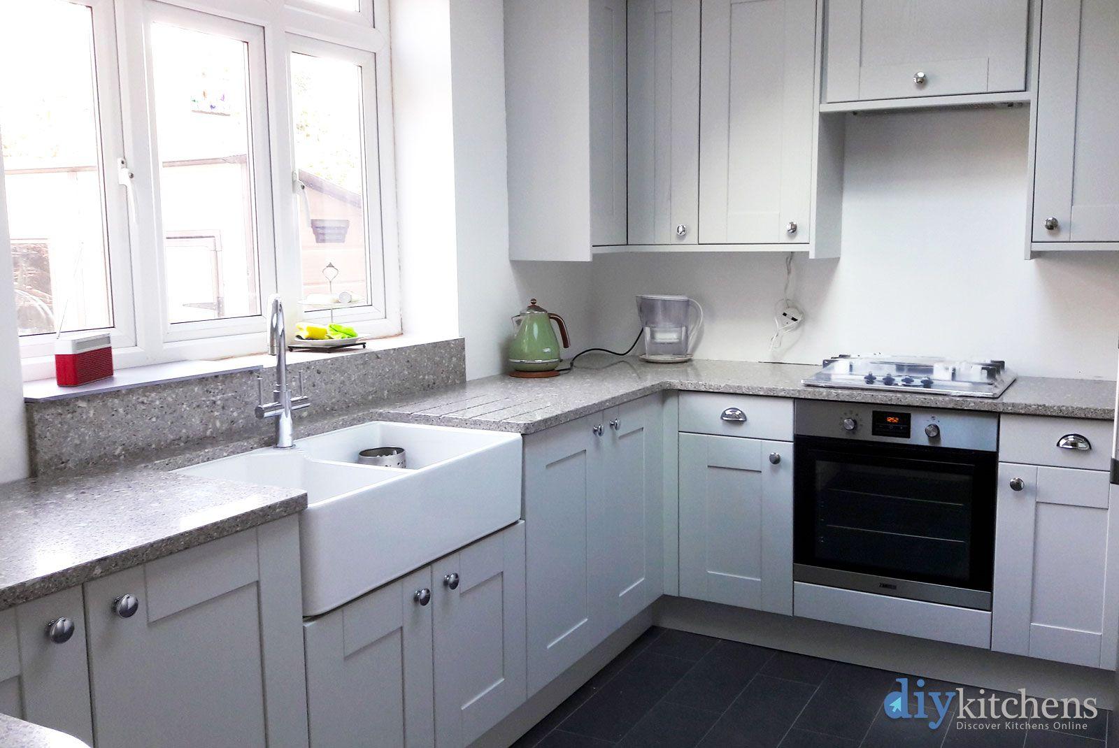 Best An Innova Linwood Dove Grey Shaker Kitchen Grey Shaker 640 x 480