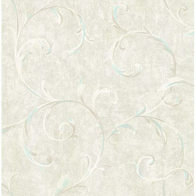 Rosdorf Park Culebra Scroll 33 L X 20 5 Quot W Wallpaper Roll