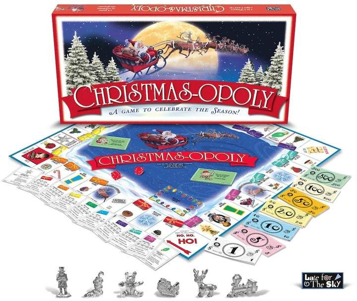 Christmas-opoly Game By Late For The Sky