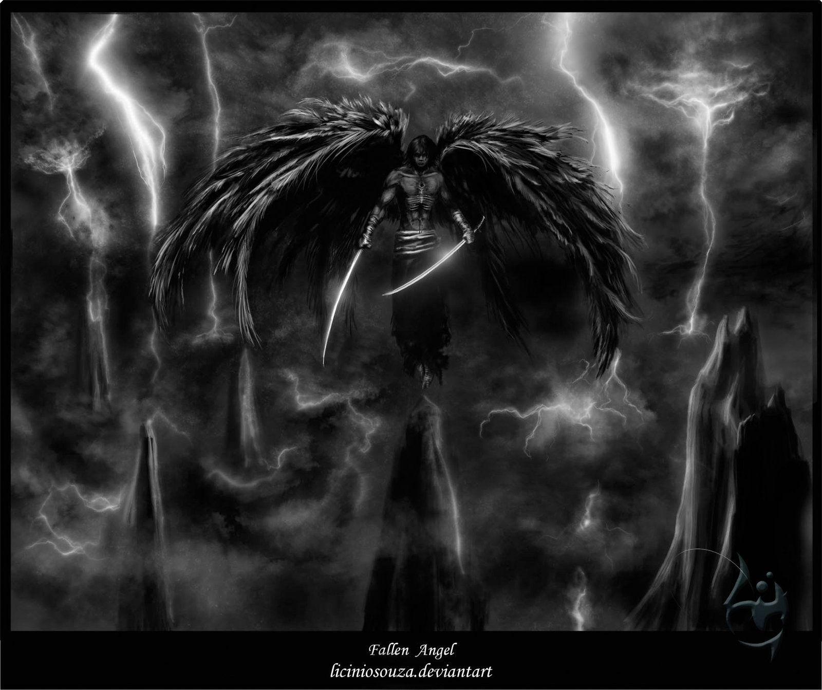 Deviantart Wallpaper: Fallen Angel II By ~liciniosouza On DeviantART