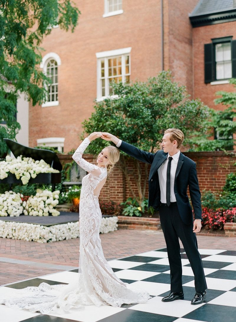 Sophisticated and elegant wedding inspiration from washington dc