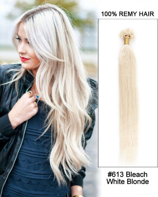 Wholesale 18 24 613 Bleach White Blonde Straight 100 Remy Hair