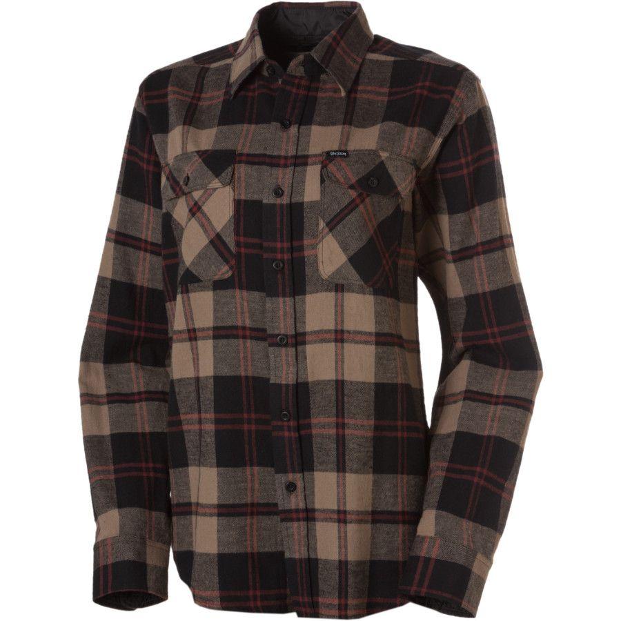 Brixton Bowery Flannel Shirt - Long-Sleeve - Women s  ddb50940d