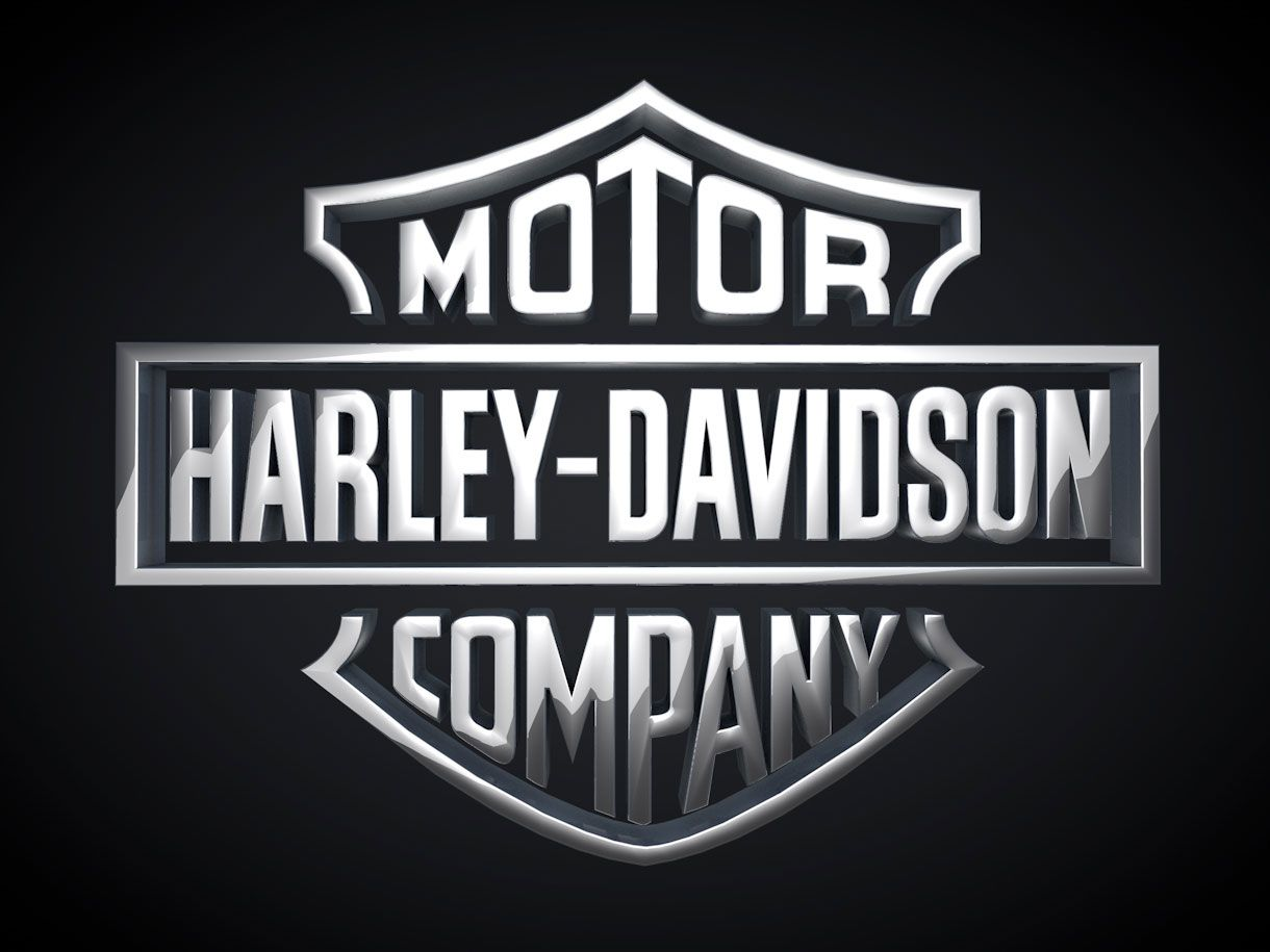 cool 3d harley davidson logo designs dự án cần thử pinterest