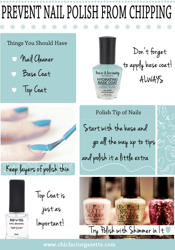 How to make your nail polish stay longer without chipping off ...