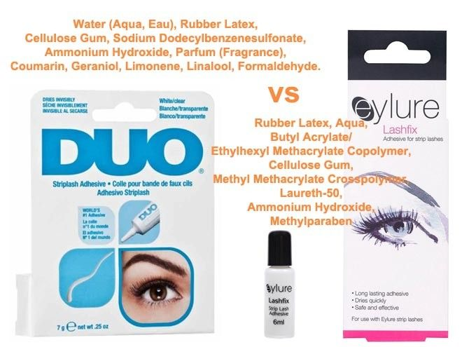 ee421679793 DUO EYELASH GLUE VS EYLURE LASHFIX ADHESIVE. Click on this article for a  REVIEW on #Duo false eyelash glue (most popular products for at home  application of ...