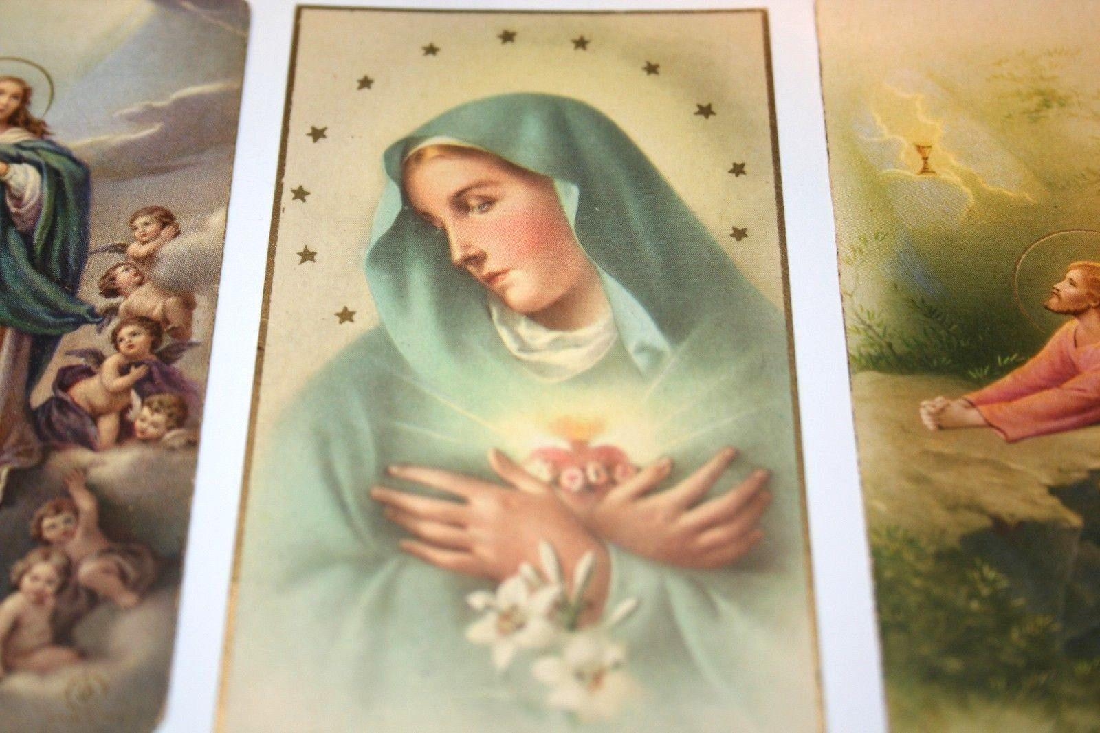 funeral prayer cards catholic