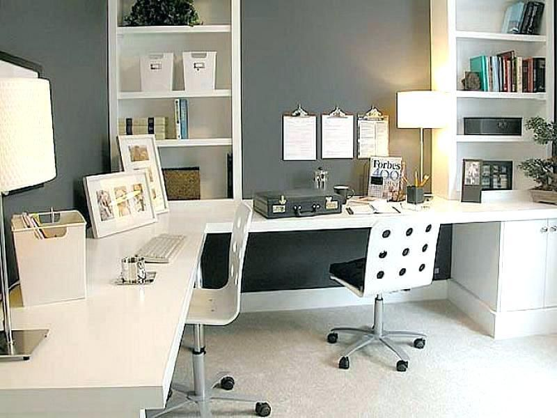 Decorating Ideas For Office Space Desk Ideas For Small Office