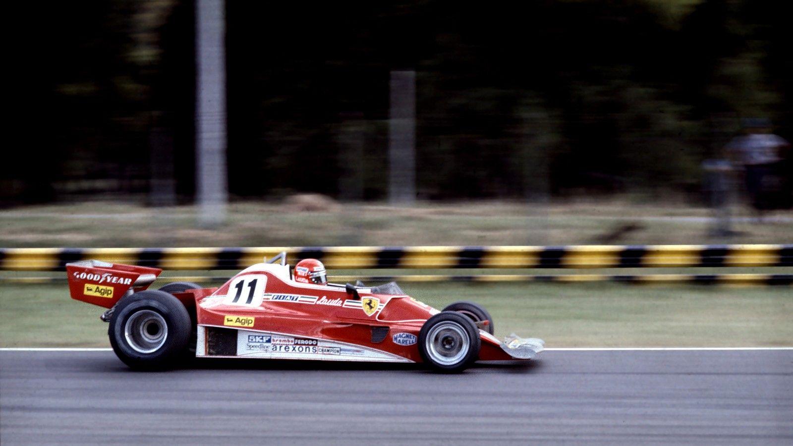 In 1977 Ferrari used the 312 T2 again. The car had already lost in ...