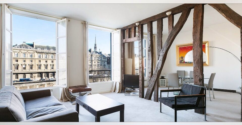 Paris Arrondist 18 Vacation Rental Vrbo 3724198ha 1 Br Apartment In France St Germain River Bank With Incredible Views Loca