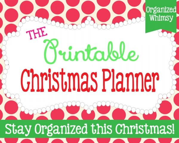 FREE printables to get ready for, and be organized, this ...
