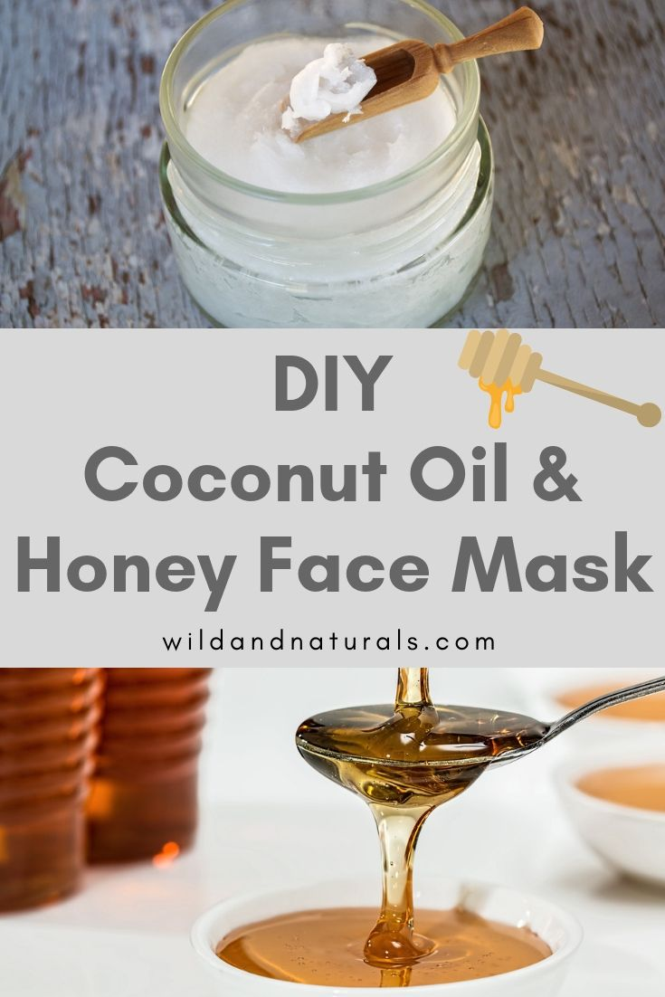 Diy coconut oil and honey face mask easy simple and