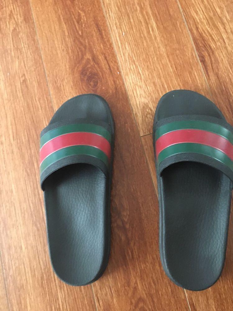 af62dd8d785d Gucci Mens Glop Flops Slides Authentic US Size 9  fashion  clothing  shoes   accessories  mensshoes  sandals (ebay link)